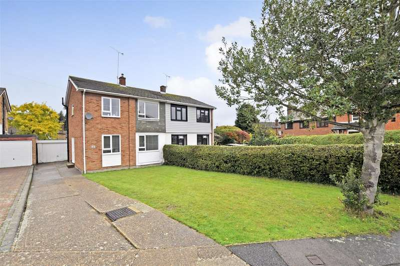 3 Bedrooms Semi Detached House for sale in Trinity Close, Rayleigh