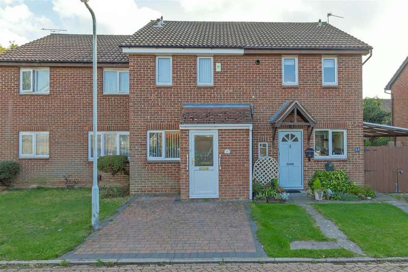 2 Bedrooms Terraced House for sale in Vectis Drive, Sittingbourne