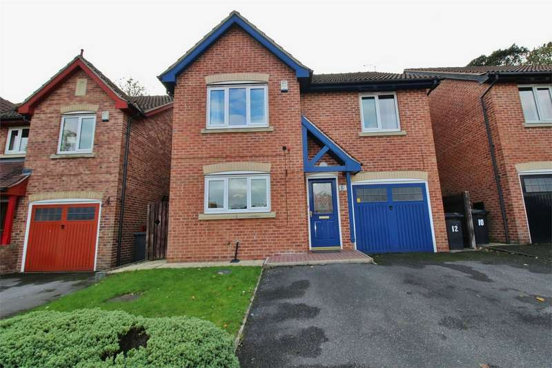 4 Bedrooms Detached House for sale in Newton Close, Chapeltown, SHEFFIELD, South Yorkshire