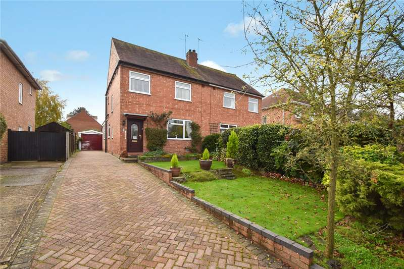 3 Bedrooms Semi Detached House for sale in Squires Walk, Kempsey, Worcester
