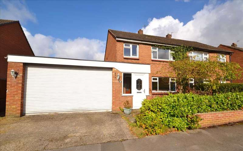 4 Bedrooms Semi Detached House for sale in Laurel Avenue, Euxton, Chorley