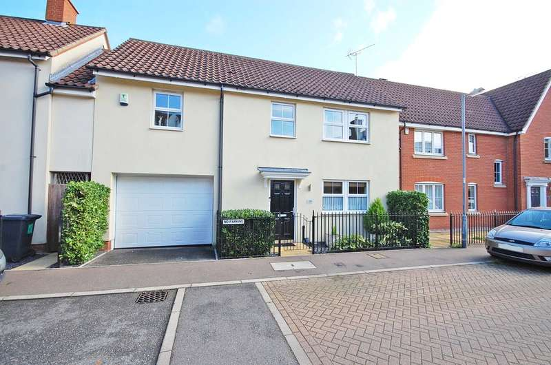 4 Bedrooms Link Detached House for sale in Fayrewood Drive, Great Leighs, Chelmsford, CM3