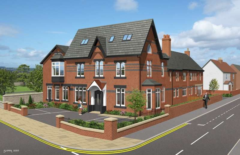 2 Bedrooms Flat for sale in Liverpool Road, Crosby, Liverpool, L23