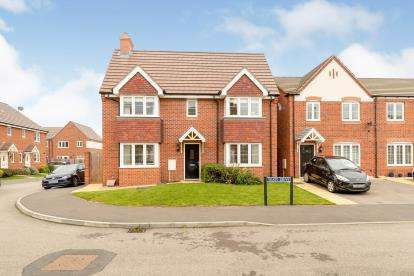 3 Bedrooms Detached House for sale in Yeats Drive, Warwick, Warwickshire