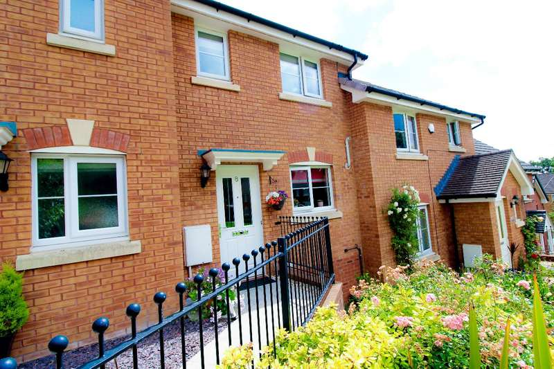2 Bedrooms Terraced House for sale in Thorncliffe Way, St. Dials, Cwmbran