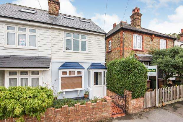 3 Bedrooms Semi Detached House for sale in Worcester Park, Surrey