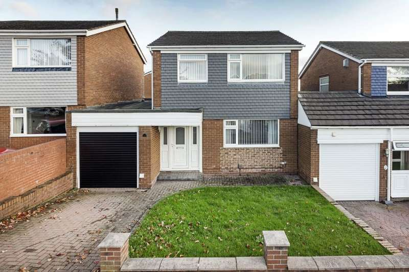 3 Bedrooms Detached House for sale in Neptune Road, Dumpling Hall, Newcastle Upon Tyne, NE15