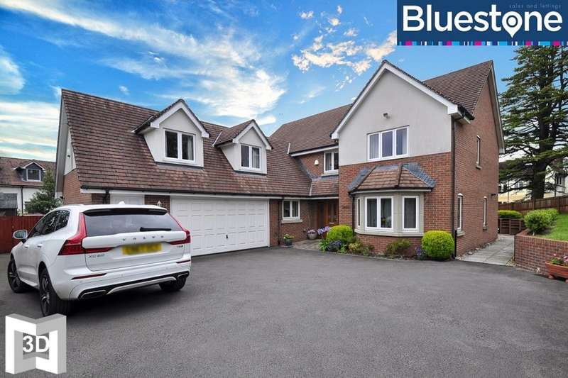 5 Bedrooms Detached House for sale in Glasllwch Crescent, Newport