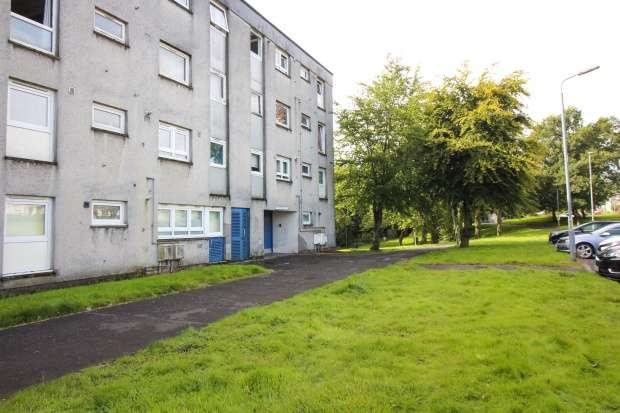 2 Bedrooms Flat for sale in Sandyknowes Road, Glasgow, G67 2PQ