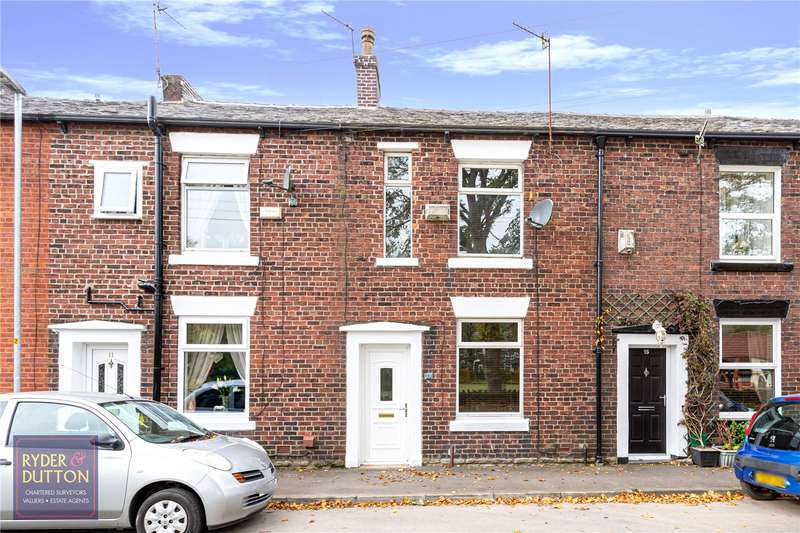 2 Bedrooms Terraced House for sale in Woodend, Shaw, Oldham, Greater Manchester, OL2