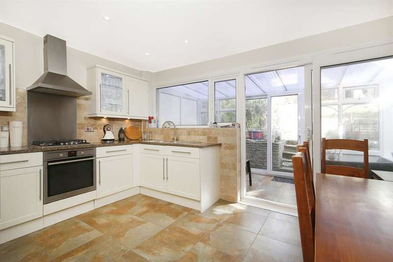 3 Bedrooms End Of Terrace House for sale in Neville Close, Sidcup, Kent, DA15 7HF