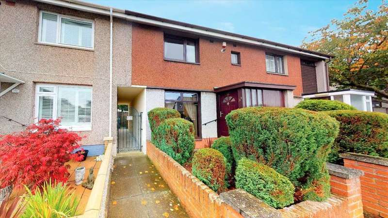 2 Bedrooms Terraced House for sale in Couston Drive, Dalgety Bay