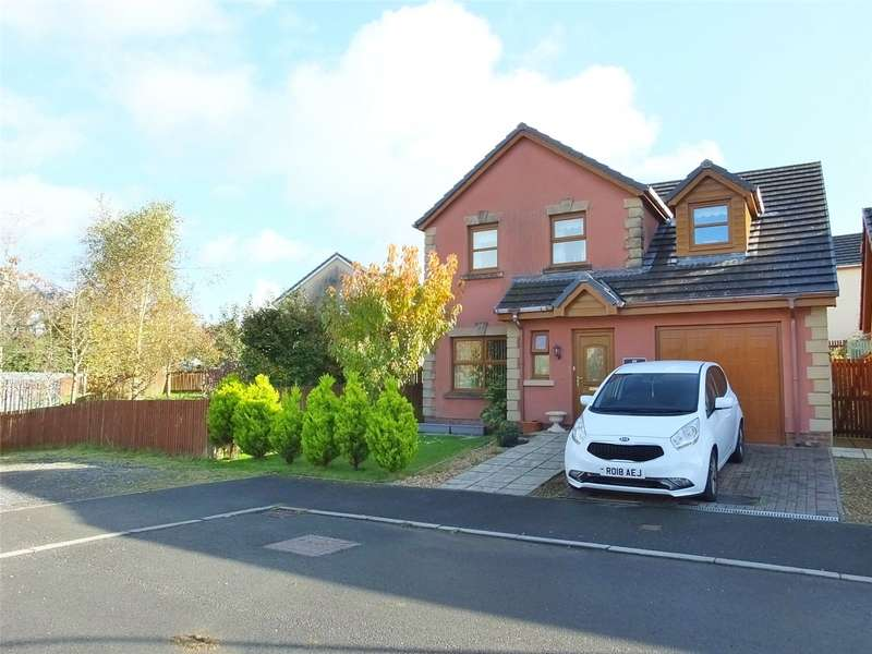 3 Bedrooms Detached House for sale in Maes Abaty, Whitland, Carmarthenshire