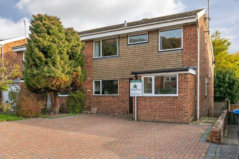 4 Bedrooms Semi Detached House for sale in Browning Drive, Fulflood, Winchester, SO22