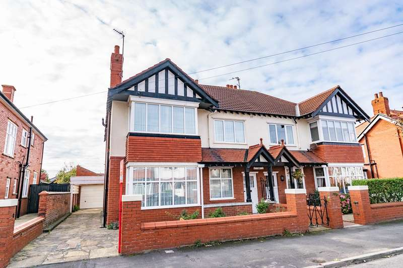 4 Bedrooms Semi Detached House for sale in Rowsley Road, Lytham St Annes, FY8