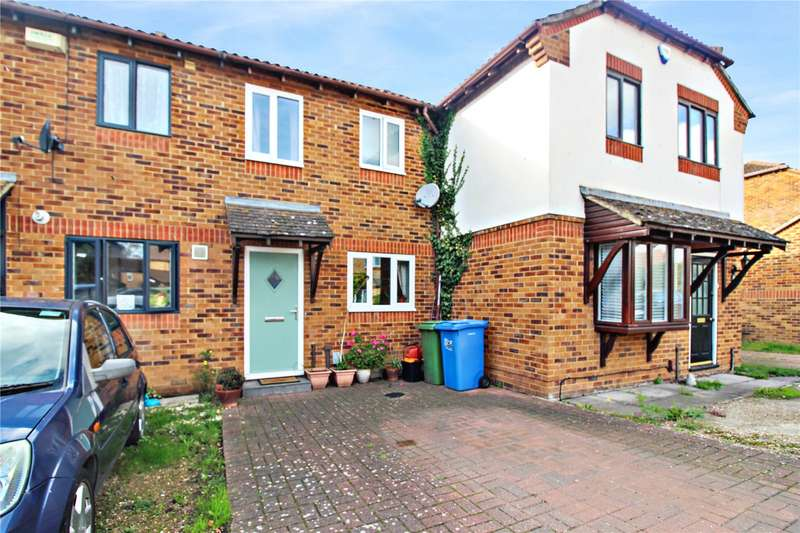 2 Bedrooms Terraced House for sale in Cricketers Close, Kemsley, Sittingbourne, ME10