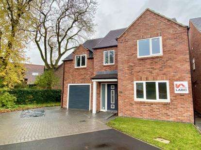 4 Bedrooms Detached House for sale in Broadleaf Close, Alfreton Road, Sutton In Ashfield