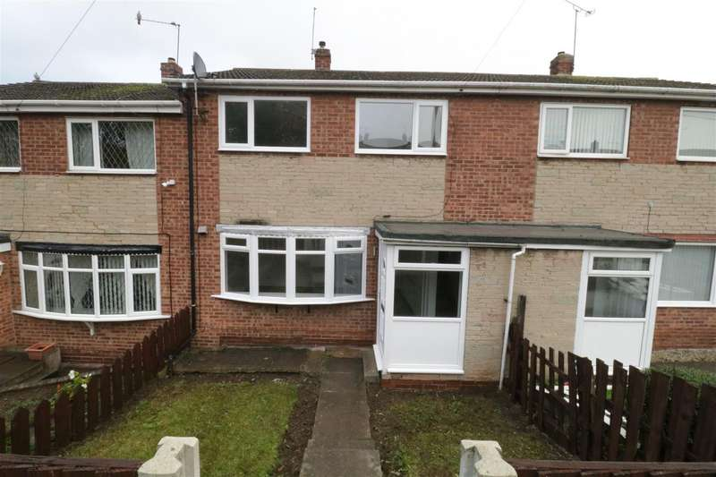 3 Bedrooms Terraced House for rent in Bullfinch Close, Brinsworth, Rotherham