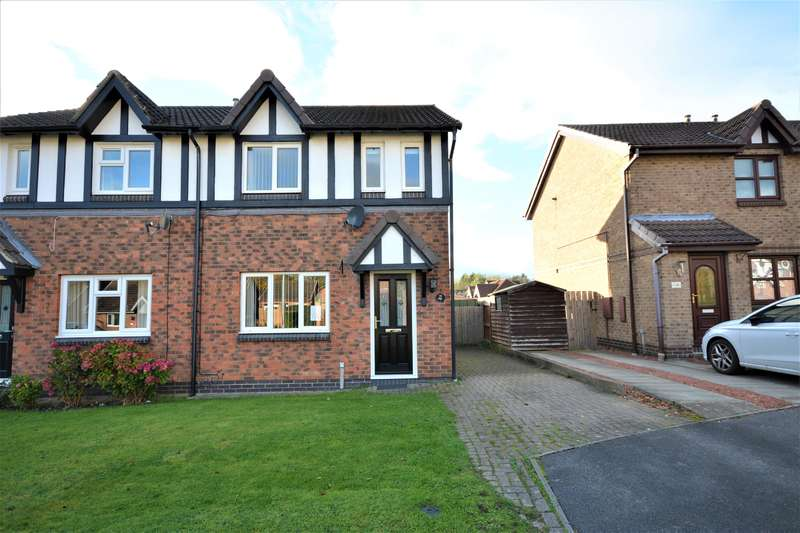 3 Bedrooms Semi Detached House for sale in Malvern Way, Newton Aycliffe, DL5 7PR