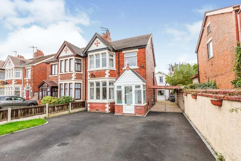 4 Bedrooms Semi Detached House for sale in St. Annes Road, Blackpool, Lancashire, FY4
