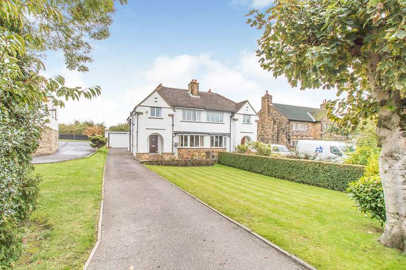 4 Bedrooms Semi Detached House for sale in Rein Road, Tingley, Wakefield, West Yorkshire, WF3