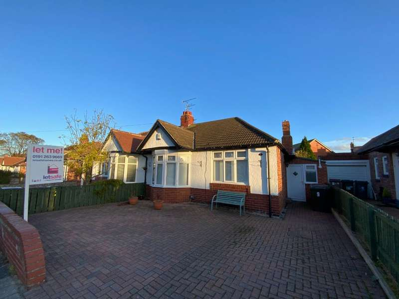 2 Bedrooms Bungalow for rent in Chatsworth Gardens, Monkseaton, Whitley Bay