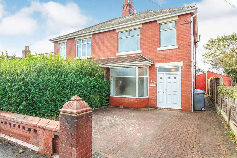 3 Bedrooms Semi Detached House for sale in Hawes Side Lane, Blackpool, Lancashire, FY4