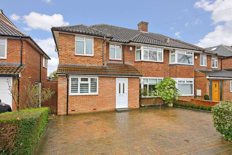 5 Bedrooms Semi Detached House for rent in Hartland Drive, Edgware