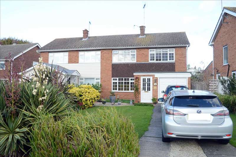 3 Bedrooms Semi Detached House for sale in Orford Crescent, Springfield, Chelmsford