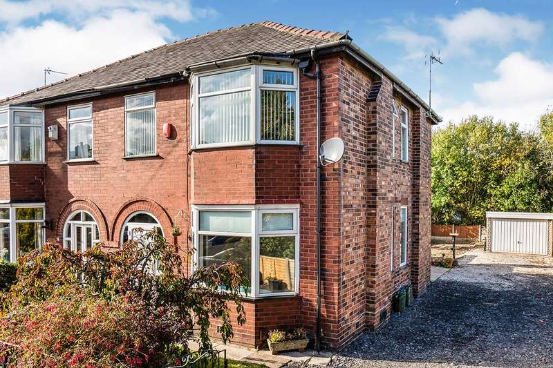 3 Bedrooms Semi Detached House for sale in Rivington Avenue, Pendlebury, M27