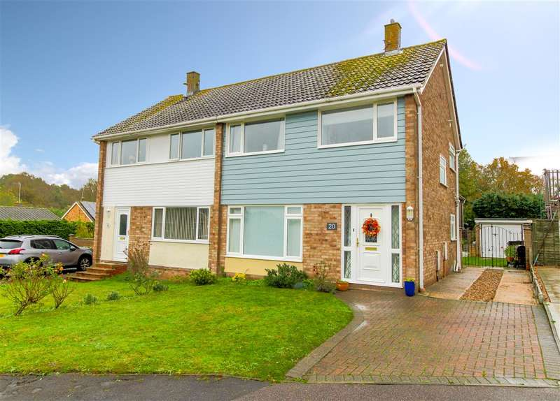 3 Bedrooms Semi Detached House for sale in The Walk, Eight Ash Green, Colchester, CO6