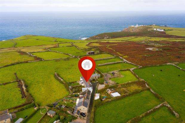 2 Bedrooms Terraced House for sale in Boscaswell Village, Pendeen, Penzance, Cornwall