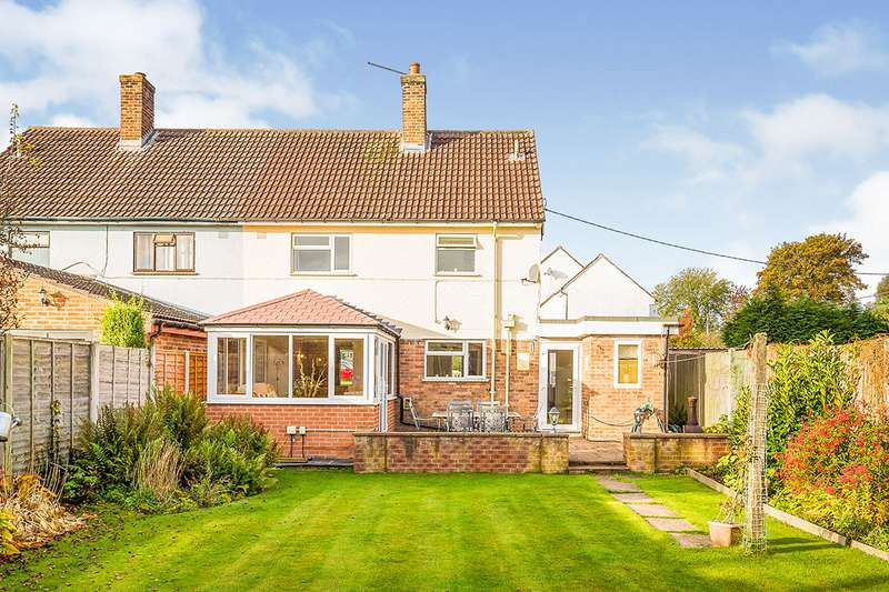 3 Bedrooms Semi Detached House for sale in St. Barbaras Place, Park Hall, Oswestry, Shropshire, SY11