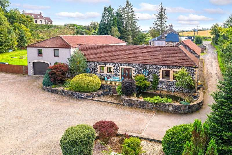 5 Bedrooms Detached House for sale in The Steadings, Rameldry Road, Kettlebridge, Cupar, Fife, KY15