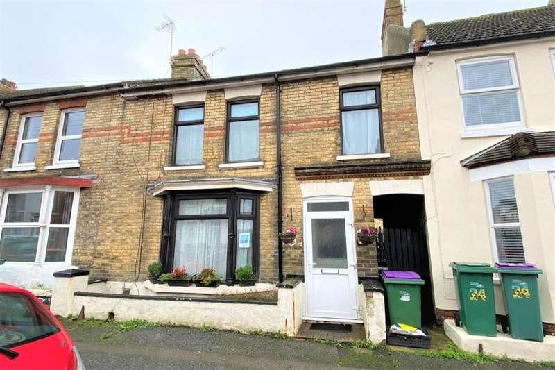 4 Bedrooms Terraced House for sale in Fernbank Crescent, Folkestone, CT19