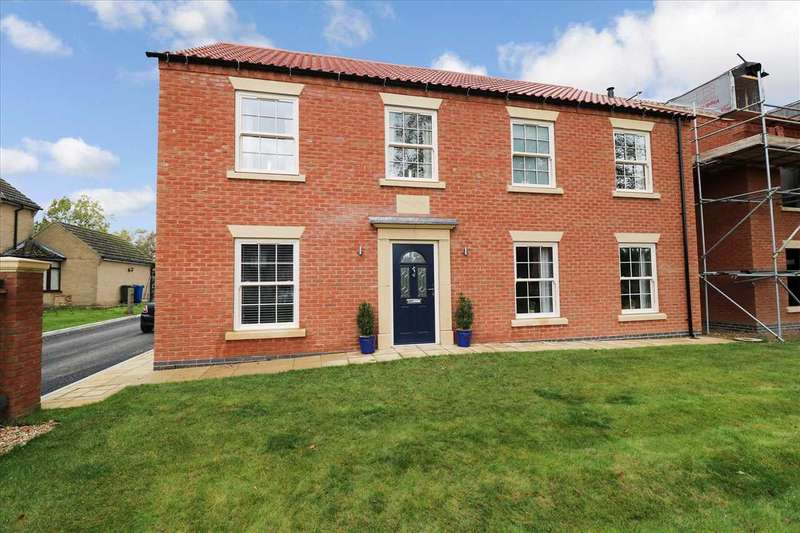 5 Bedrooms Detached House for sale in Lime Tree House, Fen Road, Owmby By Spital