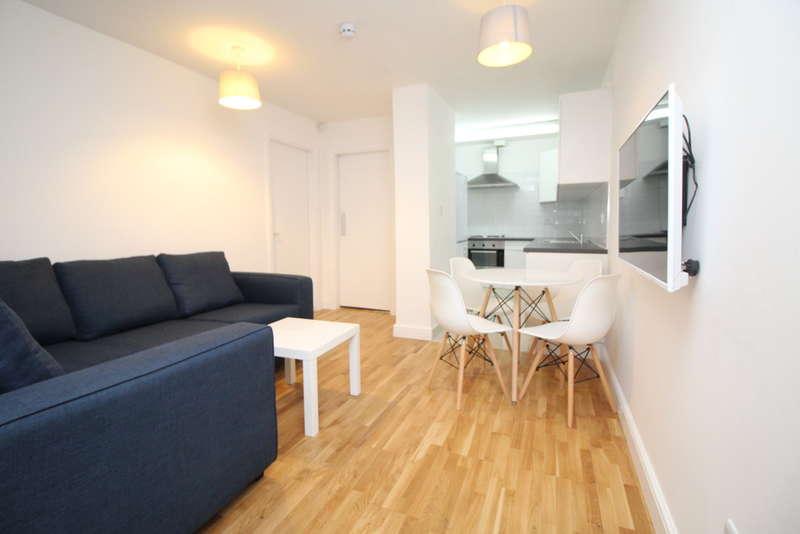 3 Bedrooms Flat for rent in Basement Flat, Clarendon Road