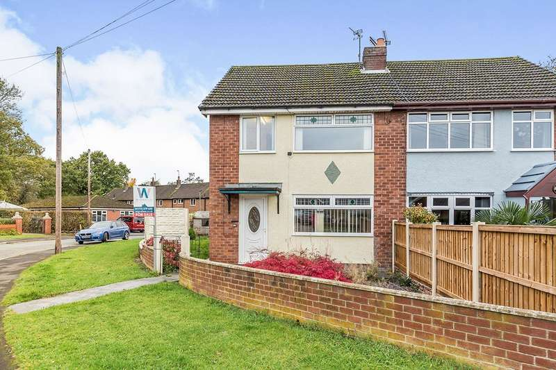3 Bedrooms Semi Detached House for sale in Cumberland Avenue, Leyland, Lancashire, PR25