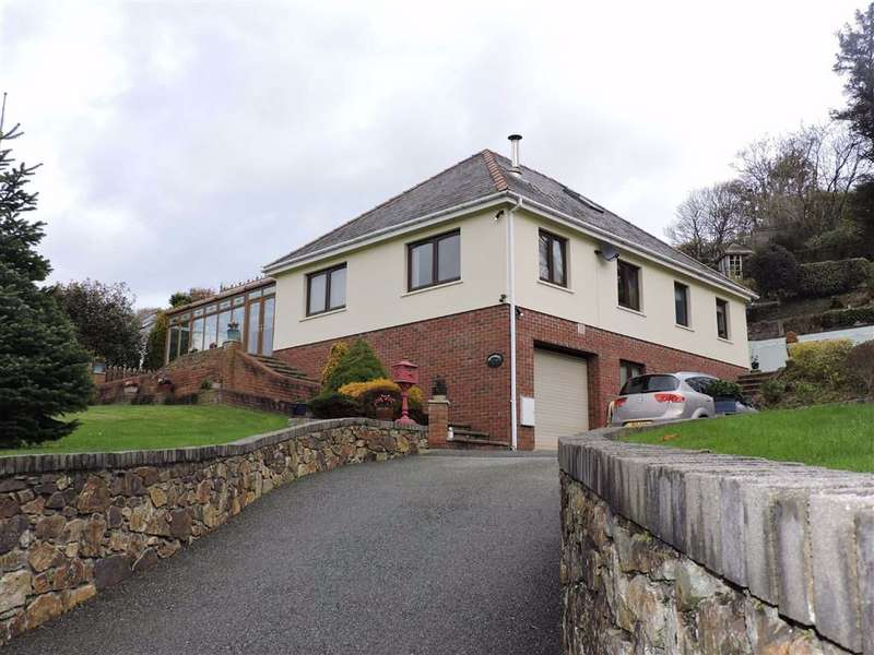 5 Bedrooms Detached House for sale in Wolfscastle, Haverfordwest