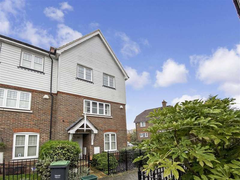 4 Bedrooms End Of Terrace House for sale in Sunrise Way, , Kings Hill, West Malling, Kent
