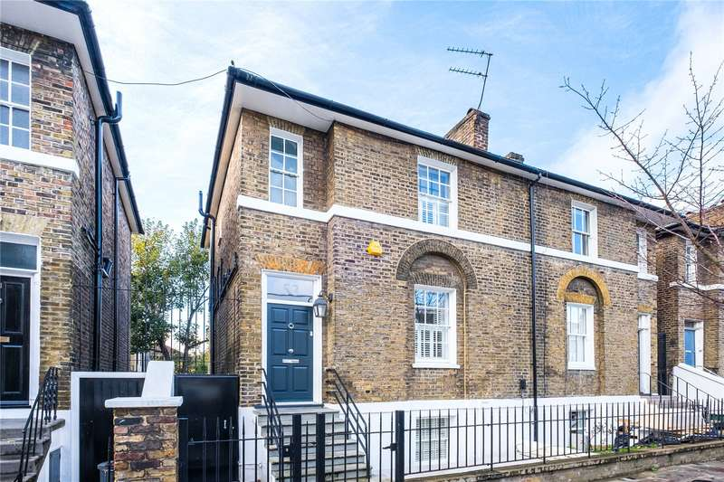 4 Bedrooms Semi Detached House for sale in Rotherfield Street, London, N1