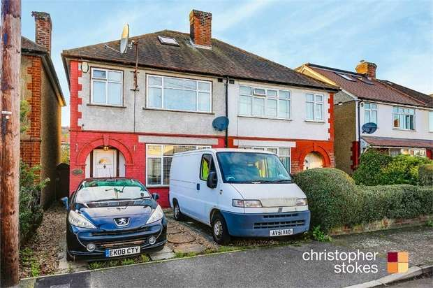 3 Bedrooms Semi Detached House for sale in Manor Road, Hoddesdon, Hertfordshire