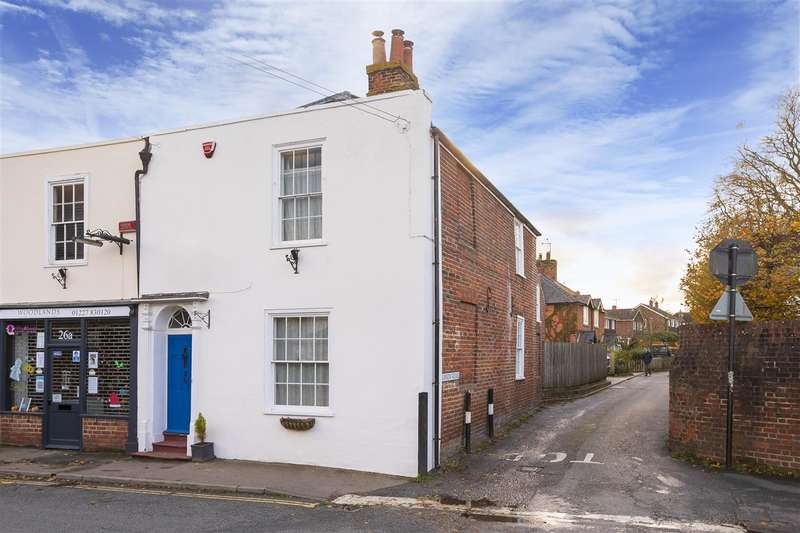 3 Bedrooms End Of Terrace House for sale in High Street, Bridge