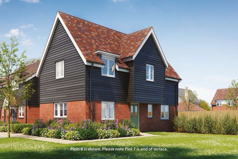 3 Bedrooms End Of Terrace House for sale in St Laurence View, Ridgewell, Essex