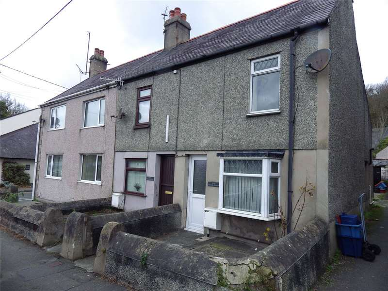 2 Bedrooms End Of Terrace House for rent in Church Terrace, Llangefni, Anglesey, LL77