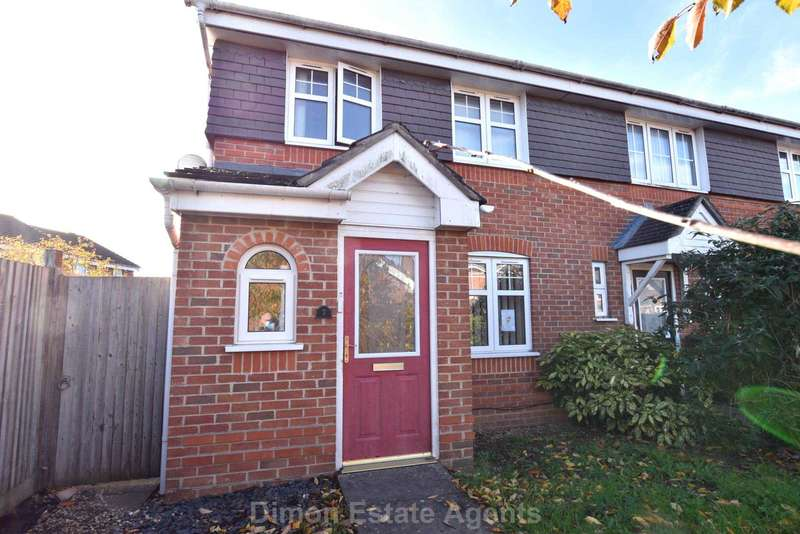 3 Bedrooms End Of Terrace House for sale in Falcon Close, Priddy`s Hard
