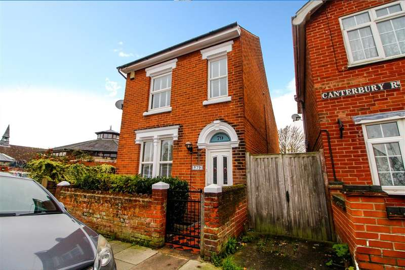 3 Bedrooms Detached House for sale in Canterbury Road, New Town, Colchester, CO2