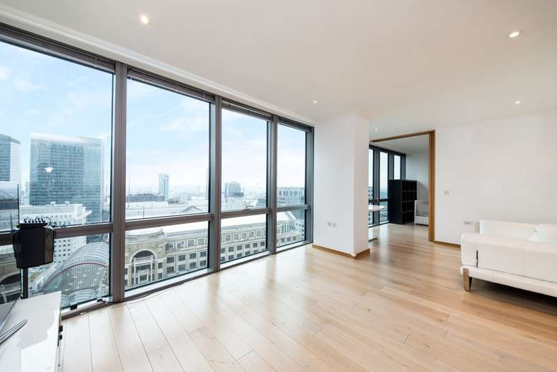 2 Bedrooms Apartment Flat for rent in No. 1 West India Quay, Canary Wharf, London E14