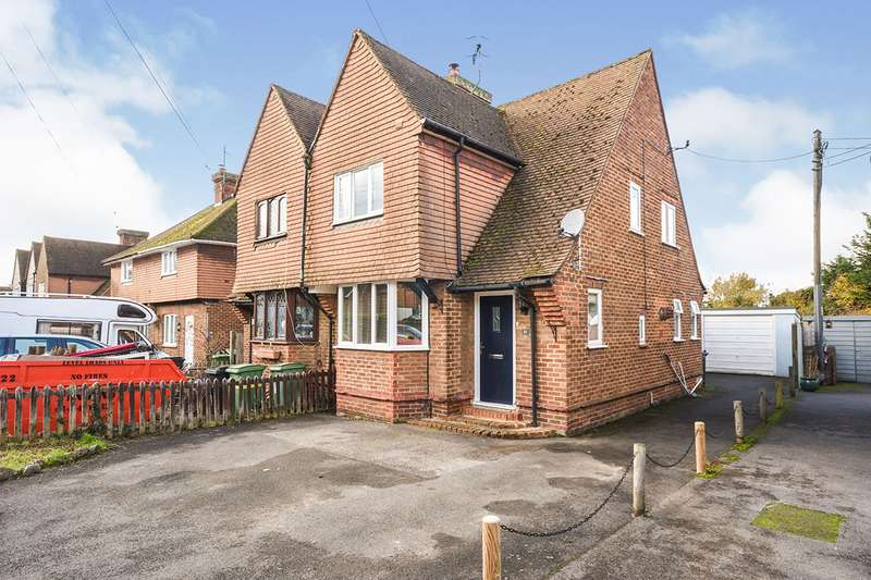 3 Bedrooms Semi Detached House for sale in Medway Avenue, Yalding, Maidstone, Kent, ME18
