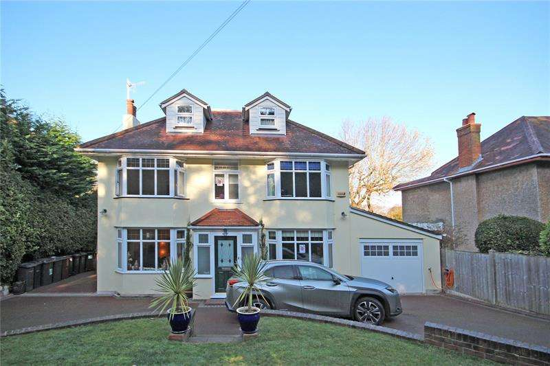 6 Bedrooms Detached House for sale in Leigham Vale Road, Bournemouth, BH6